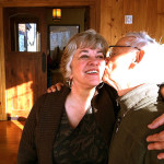 Bob and Ann Kissing